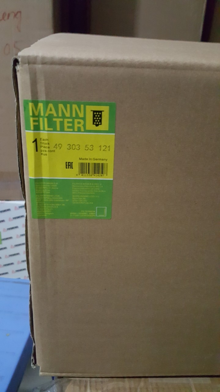 Lọc tách Mann 4930353121