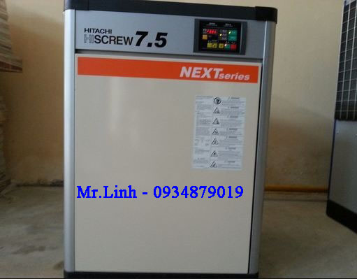 Máy nén khí trục vít Hitachi 7,5KW (10HP)