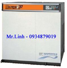 Máy nén khí trục vít Hitachi 37KW (50HP)