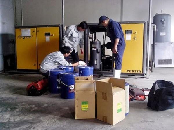 Công ty Nhân Phát chuyên cho thuê máy nén khí chất lượng tại TPHCM
